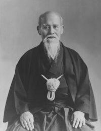 Osensei Morihei Ueshiba